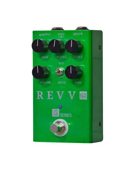 Revv - Revv G2 Drive - Crunch/Overdrive Pedal