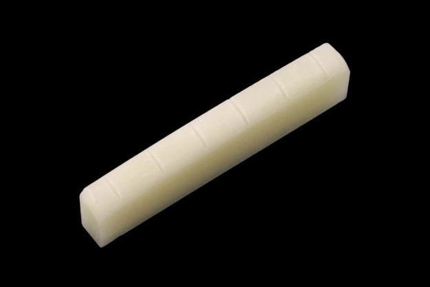 All Parts BN-2804-0U0 Slotted Unbleached Bone Nut for Gibsons®, 1 pc