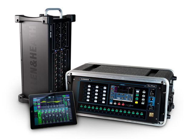 A&H QU Pac Ultra compact Digital Mixer w/ touch screen