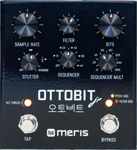 Meris - Meris Ottobit Jr. - Bitcrusher Pedal, inspired by vintage gaming consoles