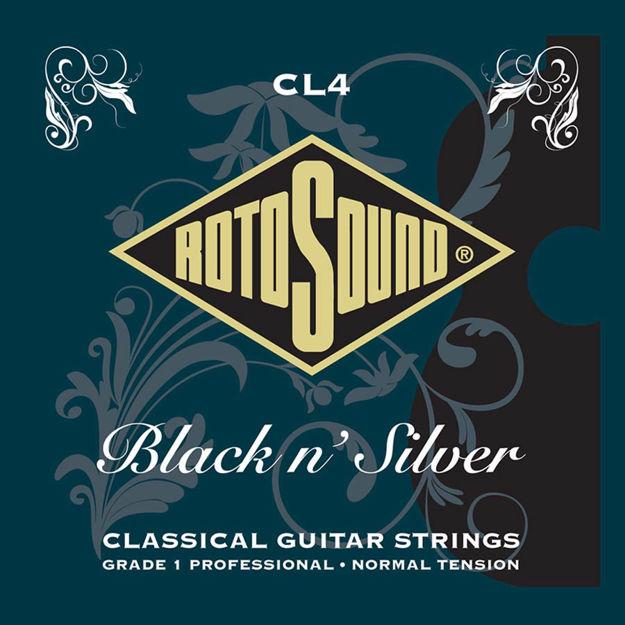 Rotosound CL4 Superia Pro Black & Silver