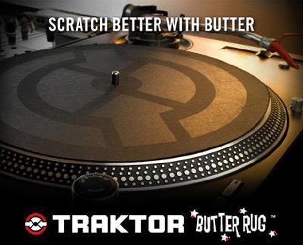 Native Instruments Traktor Butter Rug Slipmats