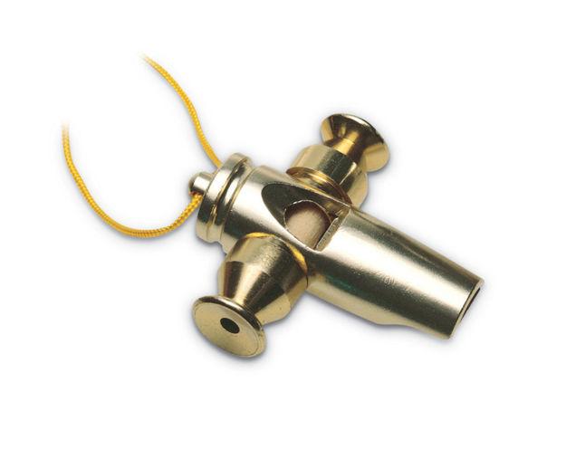 Latin Percussion Whistle Samba Tri-Tone - Gold LP352