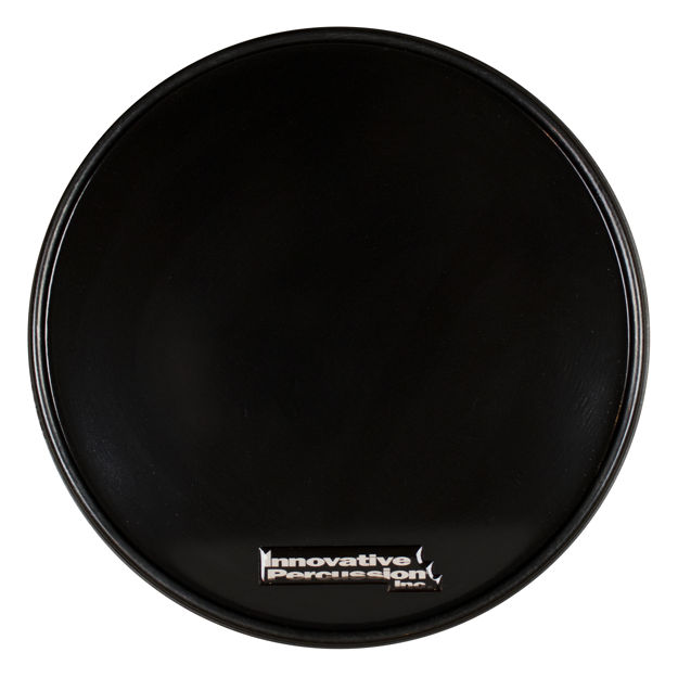 Innovative Percussion Drumsticks Cp-1r | Practice Pad Black Corps Pad With Rim