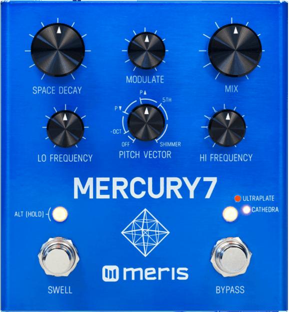 Meris - Meris Mercury7 - Algorithmic DSP Reverb Pedal, inspired by the Bladerunner soundtrack