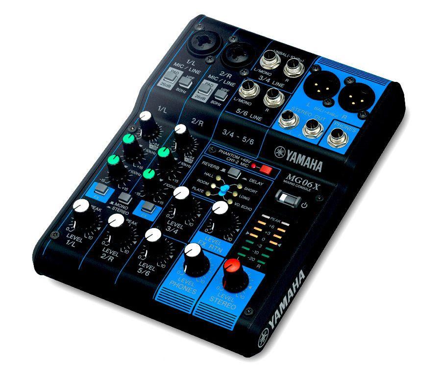 Yamaha MG06XYEM Mixing Console