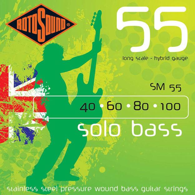 Rotosound SM55 Solo Bass 55 - Medium 40-100