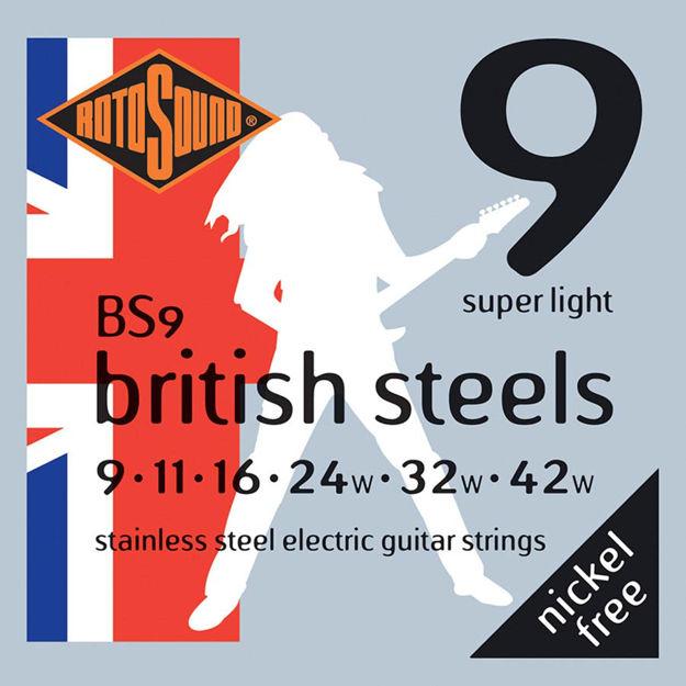 Rotosound BS9 British Steels - Super Light 9-42
