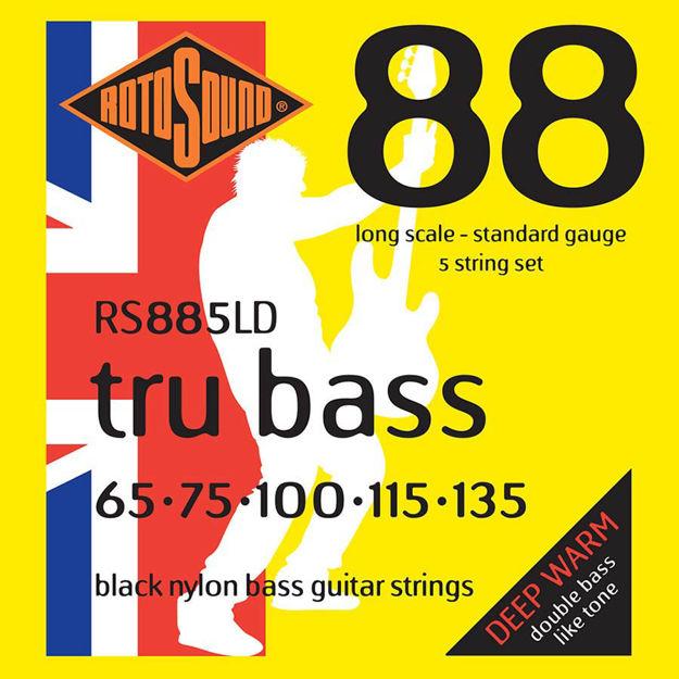 Rotosound RS885LD Tru Bass Nylon Flatwound  5-str