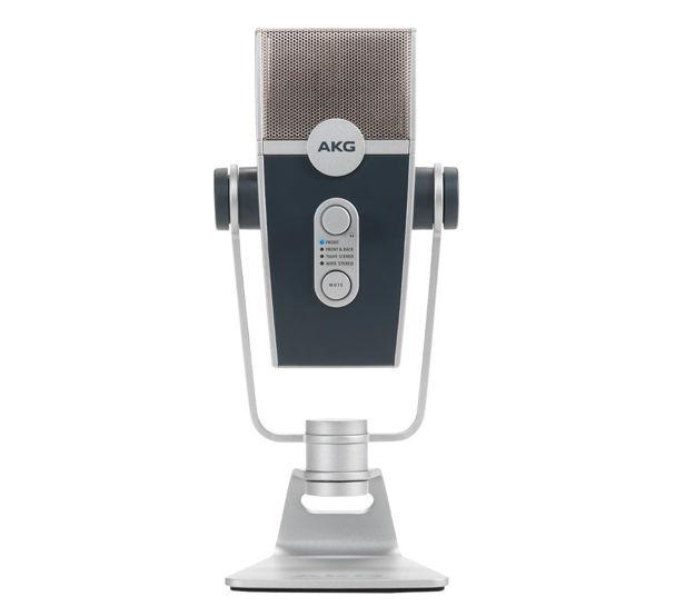 AKG LYRA   Driverløs USB-mikrofon med fire mikrofonkapsler