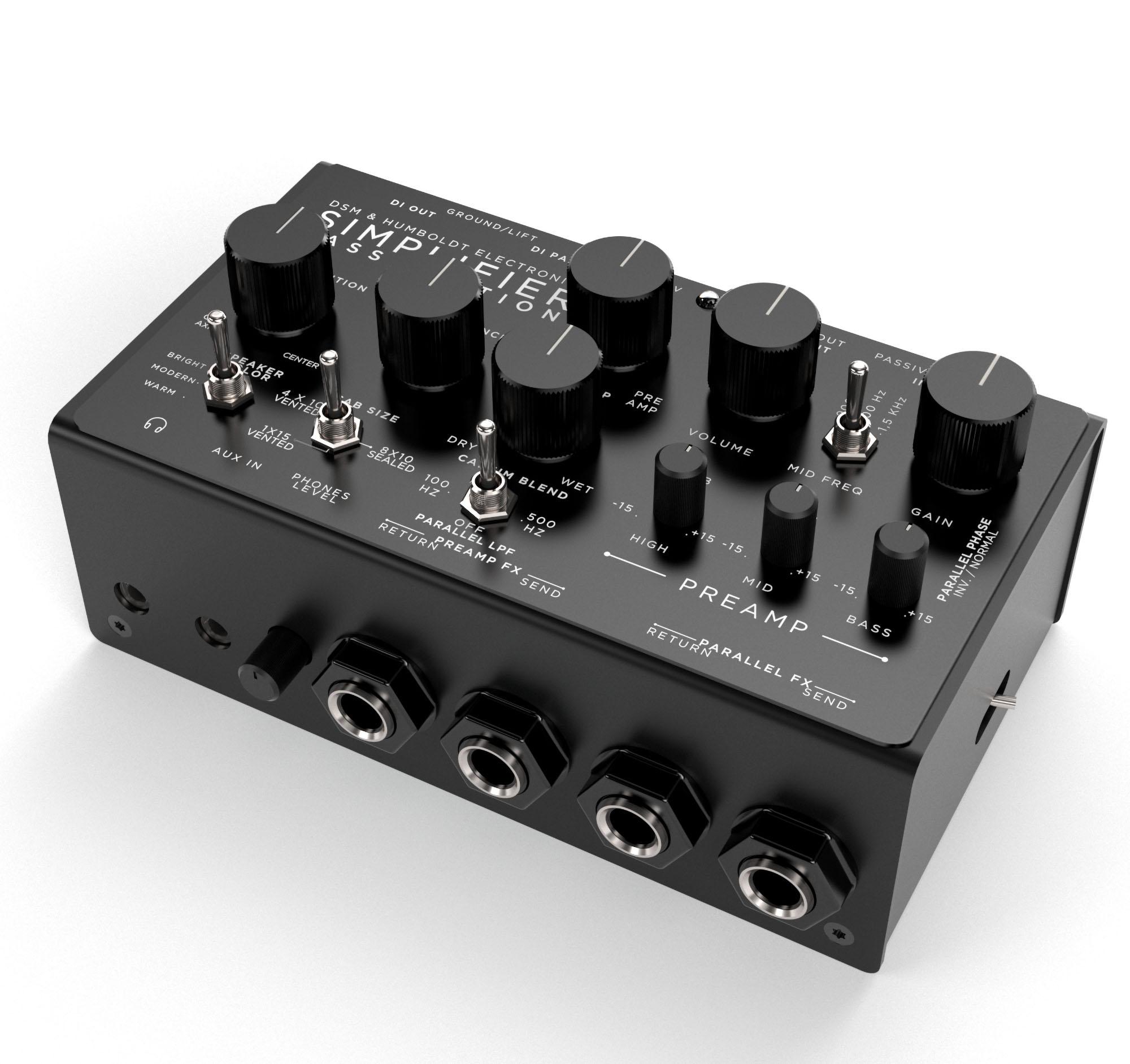 Simplifier Amps Bass Station Zero Watt Amplifier