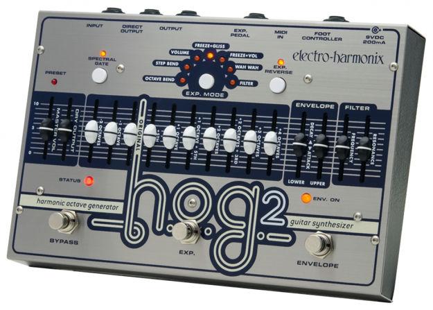 Electro-Harmonix HOG2 Harmonic Octave Generator/Synthesizer, 9.6DC-200 PSU included