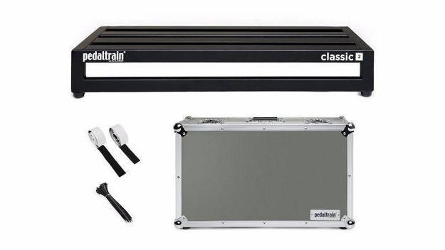 Pedaltrain Pt-Cl2-Tc CLASSIC 2 Pedalboard with Tour Case
