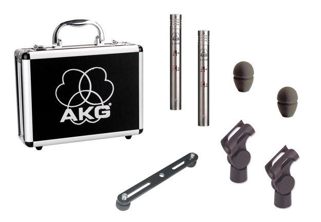 AKG C451B | kondensatormikrofon småmembran, stereopar