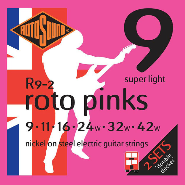 Rotosound R9-2 Roto Pinks Double Decker 9-42 (2-p)
