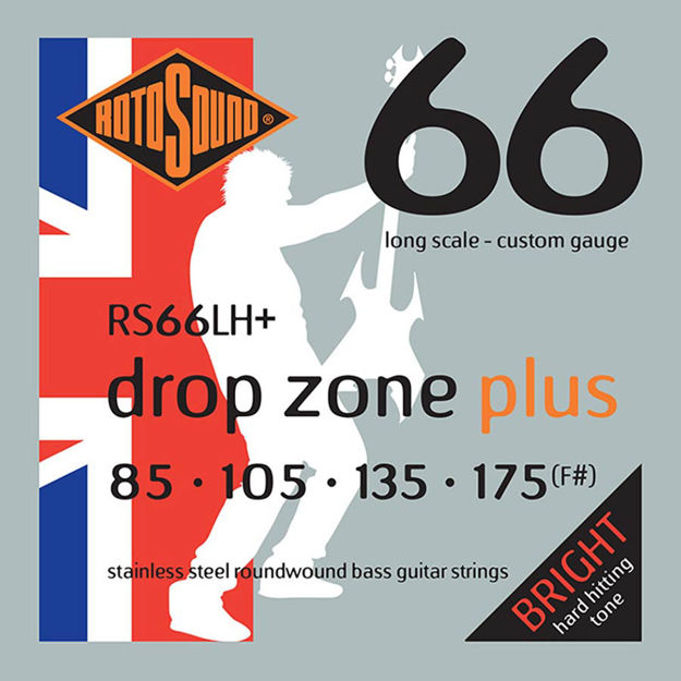 Rotosound RS66LH+ Swing Bass 66 - Drop Zone 85-175