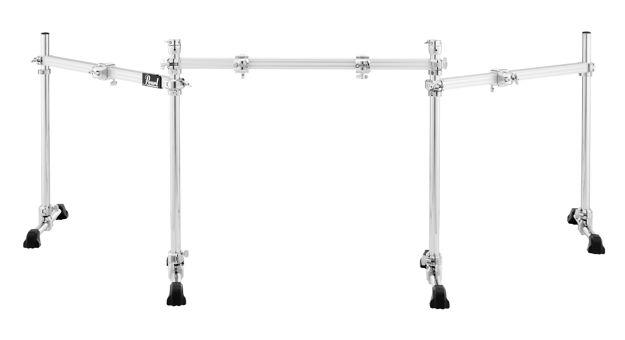 Pearl Straight Three-Sided Drum Rack (w/PCX-100x4 & PCL-100x2) |