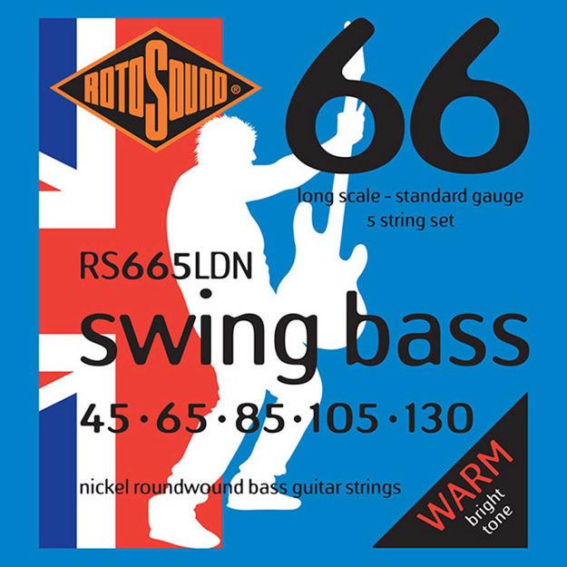 Rotosound RS665LDN Swing Bass 66 - Nickel 45-130