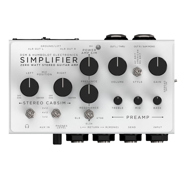 Simplifier Amps Zero Watt Amplifier