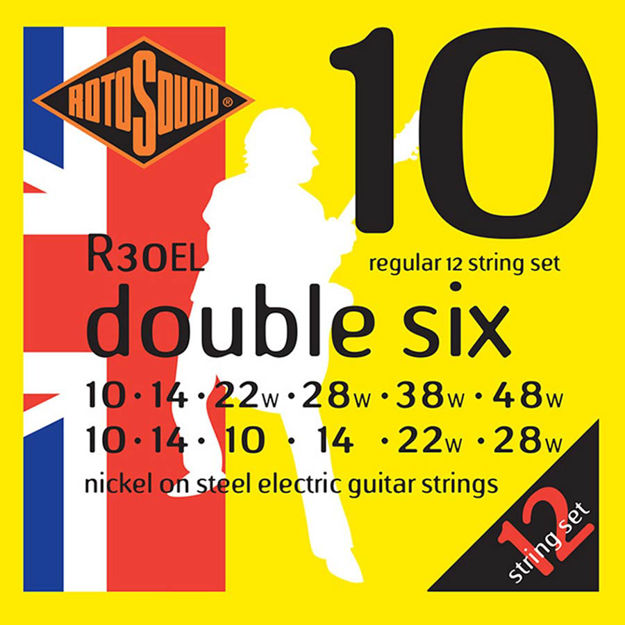 Rotosound R30EL Double Six 12-str - Regular 10-46