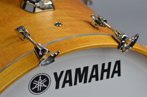 Yamaha Absolute Maple Hybrid Bass Drum 20x16 Vintage Natural