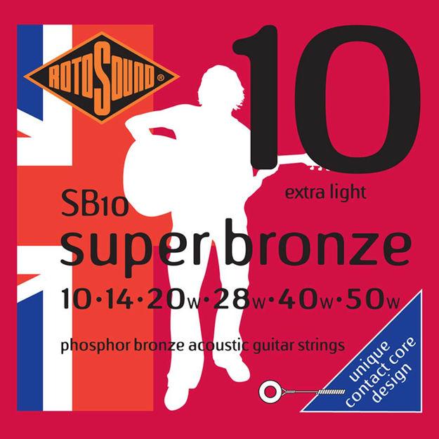 Rotosound SB10 Super Bronze - Extra Light 10-50