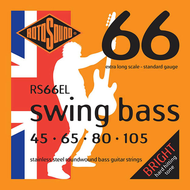 Rotosound RS66EL Swing Bass 66 - Extra Long 45-105