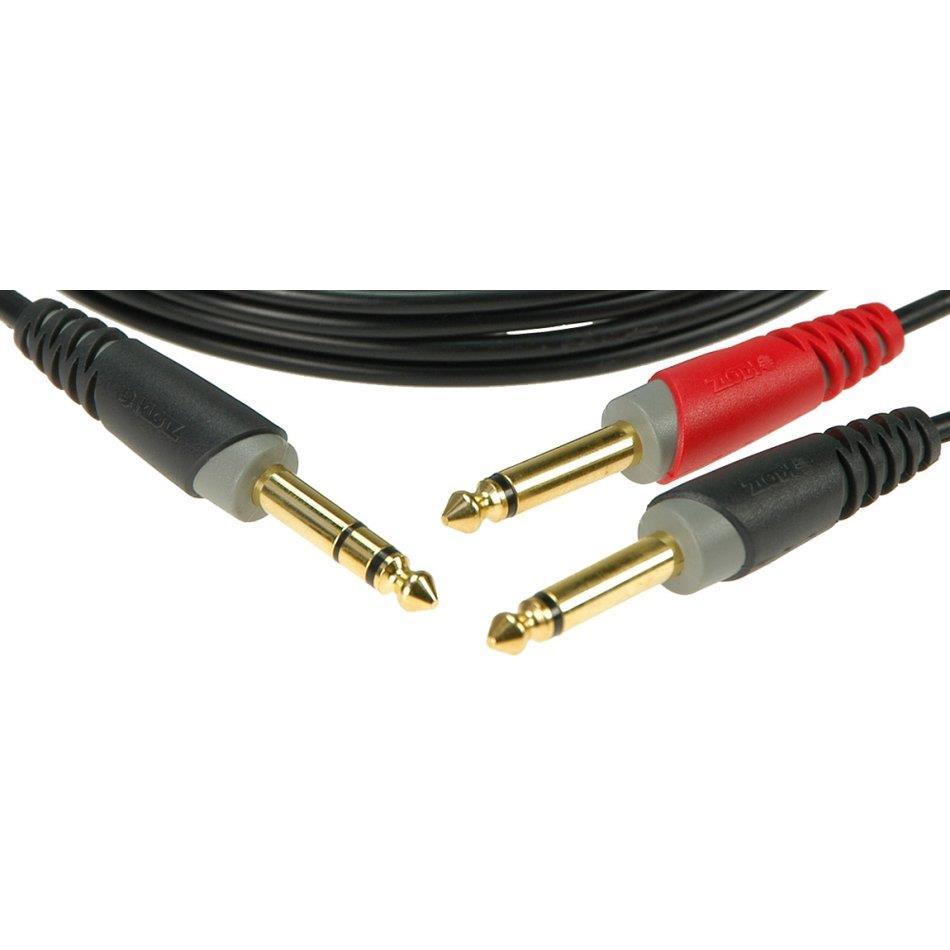 Klotz Insert kabel Jack - 2X Jack 1m