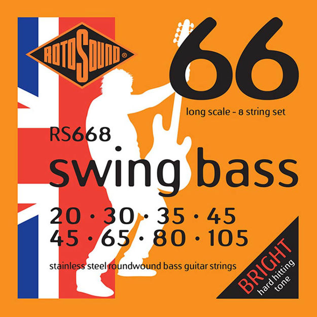 Rotosound RS668 Swing Bass 66 - 8-str 20-105