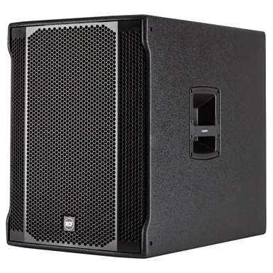 DEMODEAL   RCF 18in Bass Reflex Active Subwoofer, 700Wrms, 1400peak
