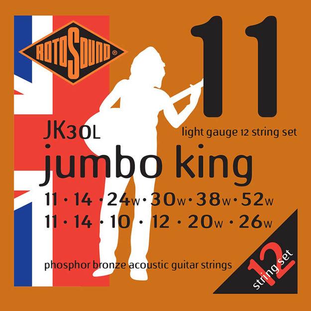 Rotosound JK30L Jumbo King Acoustic 12-str - Light 11-52