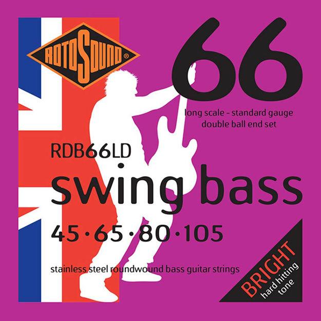 Rotosound RDB66LD Swing Bass 66 - Double Ball-End - 45-105