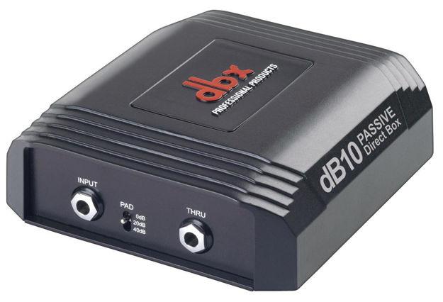 dbx dB10 | passiv DI-boks