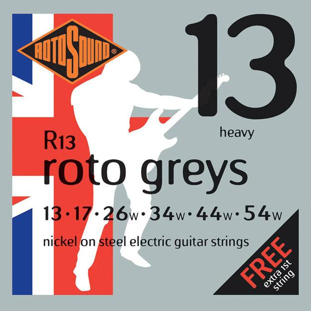 Rotosound R13 Roto Greys - Heavy 13-54