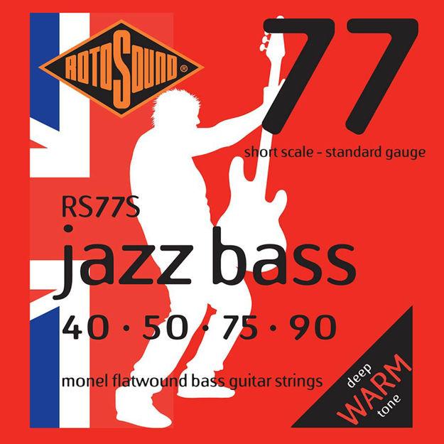 Rotosound RS77S Jazz Bass Flat Wound - Shortscale 40-90