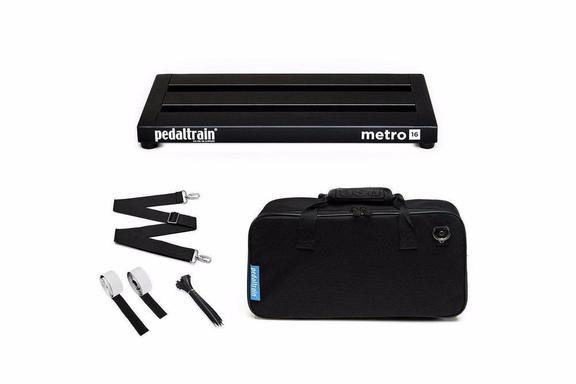 Pedaltrain Pt-M16-Sc METRO 16 Pedalboard with Soft Case