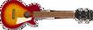 Epiphone Les Paul Acoustic/Electric Ukulele Outfit (Tenor) Heritage Cherry Sunburst