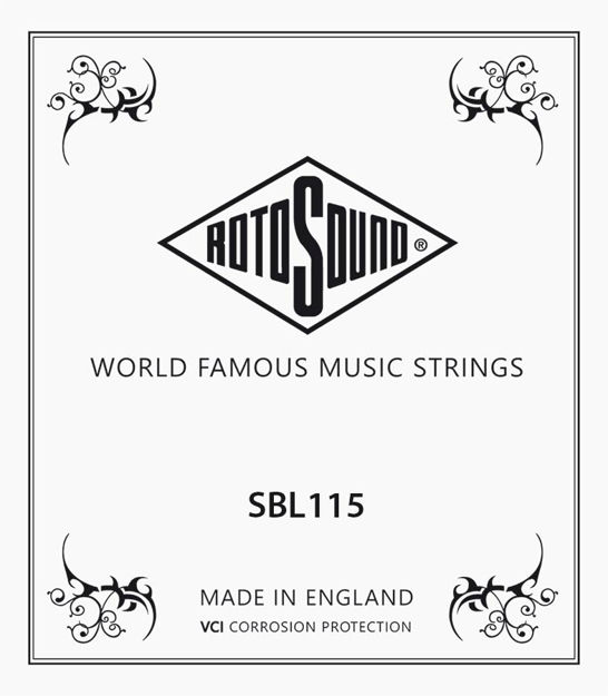Rotosound Stainless Steel Single 115