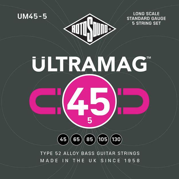 Rotosound UM45-5 Ultramag Bass 45-125 - 5-String
