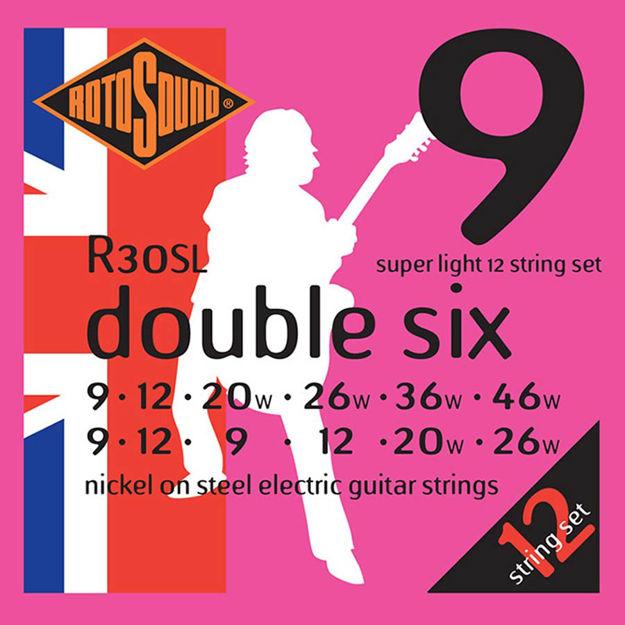 Rotosound R30SL Double Six 12-str - Super Light 9-46