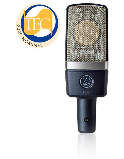 AKG C214 | kondensatormikrofon stormembran