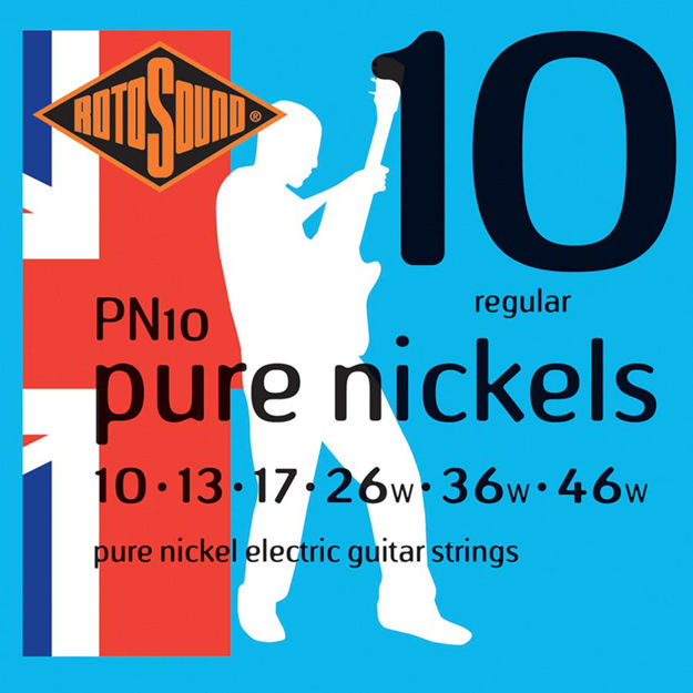 Rotosound PN10 Pure Nickels - Regular 10-46