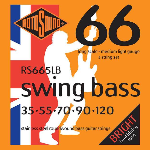 Rotosound RS665LB Swing Bass 66 - 5-str 35-120