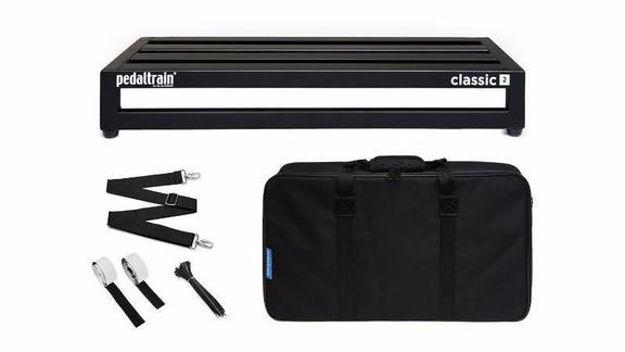 Pedaltrain Pt-Cl2-Sc CLASSIC 2  Pedalboard with Soft Case