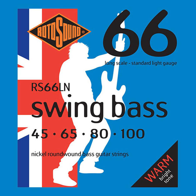 Rotosound RS66LN Swing Bass 66 - Nickel 45-100