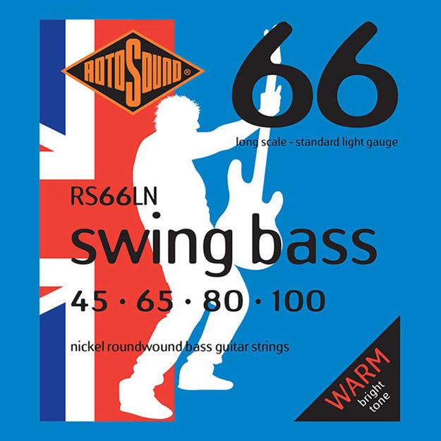 Rotosound RS66LN Swing Bass 66 - Nickel 45-100