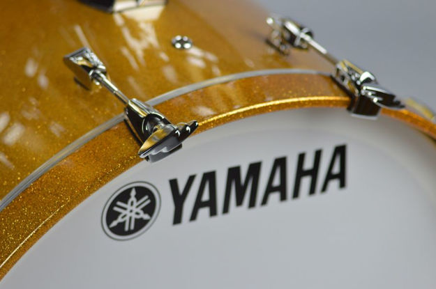 Yamaha Absolute Maple Hybrid Bass Drum 20x16 Gold Champagne Spark