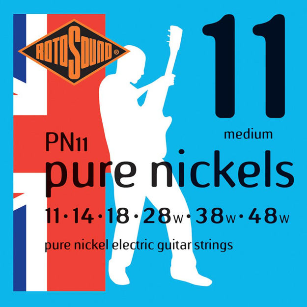 Rotosound PN11 Pure Nickels  - Medium 11-48