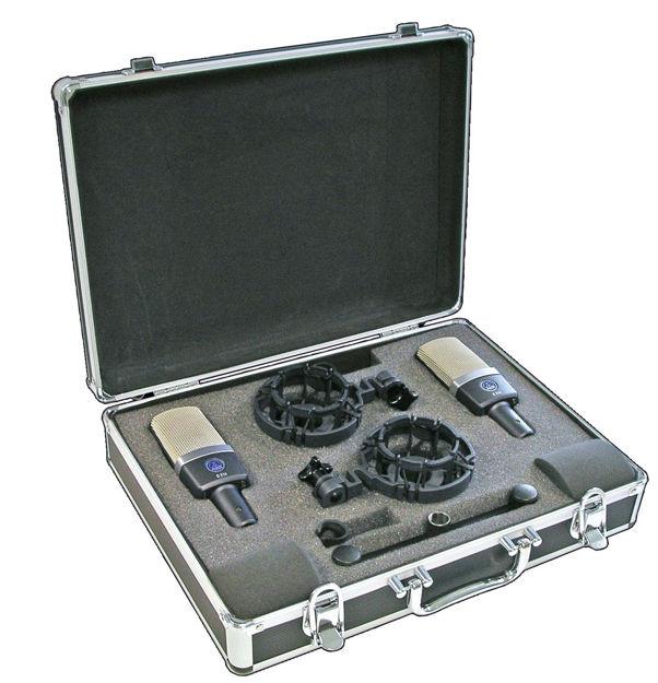 AKG C214 | kondensatormikrofon stormembran, stereopar