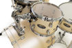 Pearl Decade Maple 5 pc Drum Set with HWP830 | Satin Gold Meringue 2016BB/1007T/1208T/1616F/1455S/HWP830